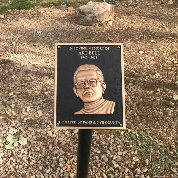 Art Bell plaque