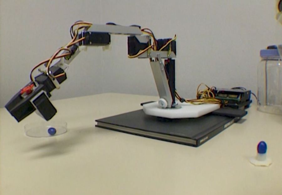 Dean Radin robot experiment