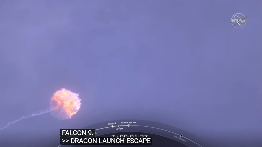 SpaceX Dragon abort test