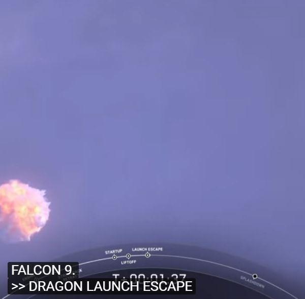 SpaceX Dragon abort test