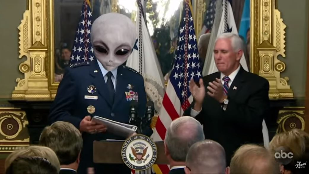 Jimmy Kimmel alien