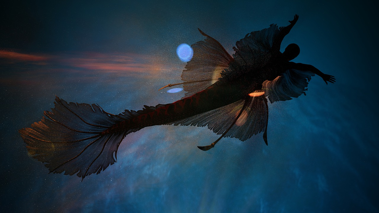 Mermaid Scotland faeries