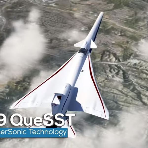 X-59 supersonic jet NASA