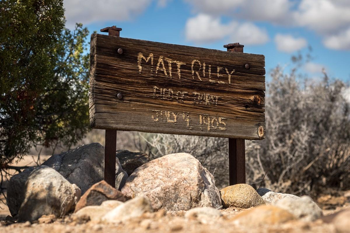 Matt Riley Joshua Tree National Park
