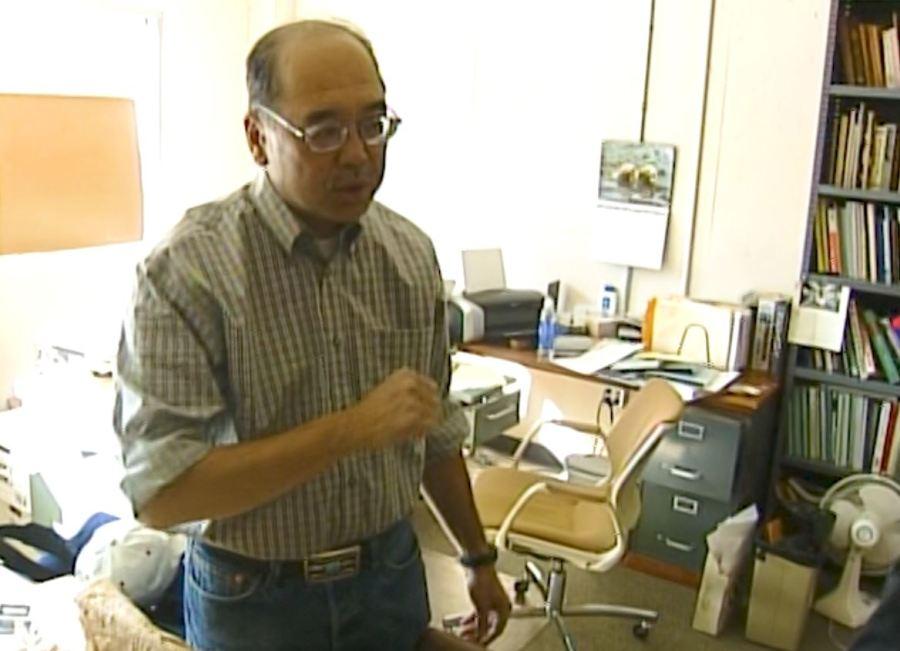 Anthropologist Gene Hattori