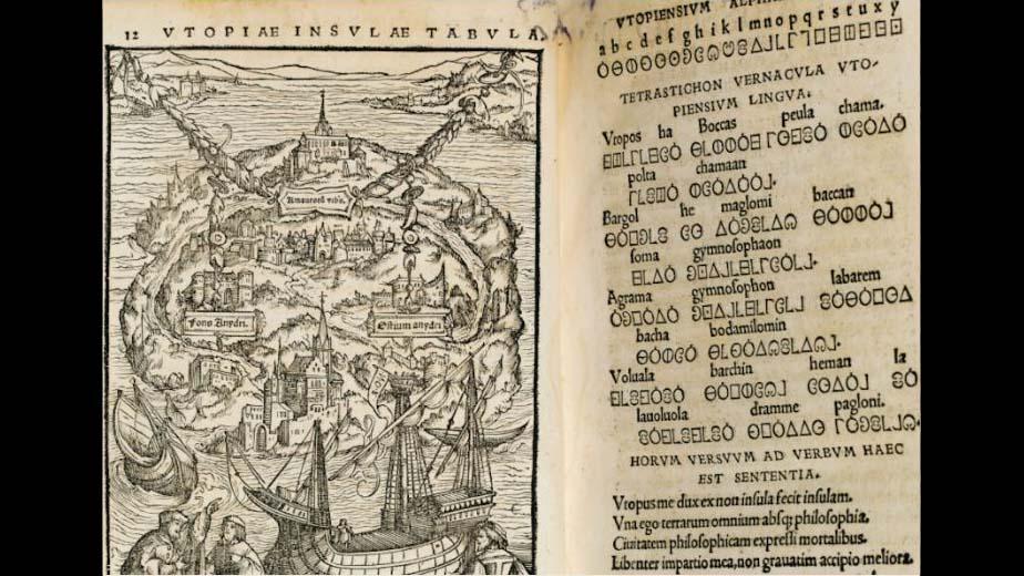 Thomas More Utopia language