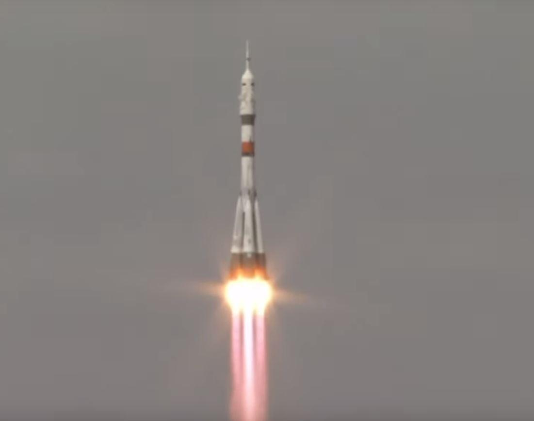 Soyuz rocket launch