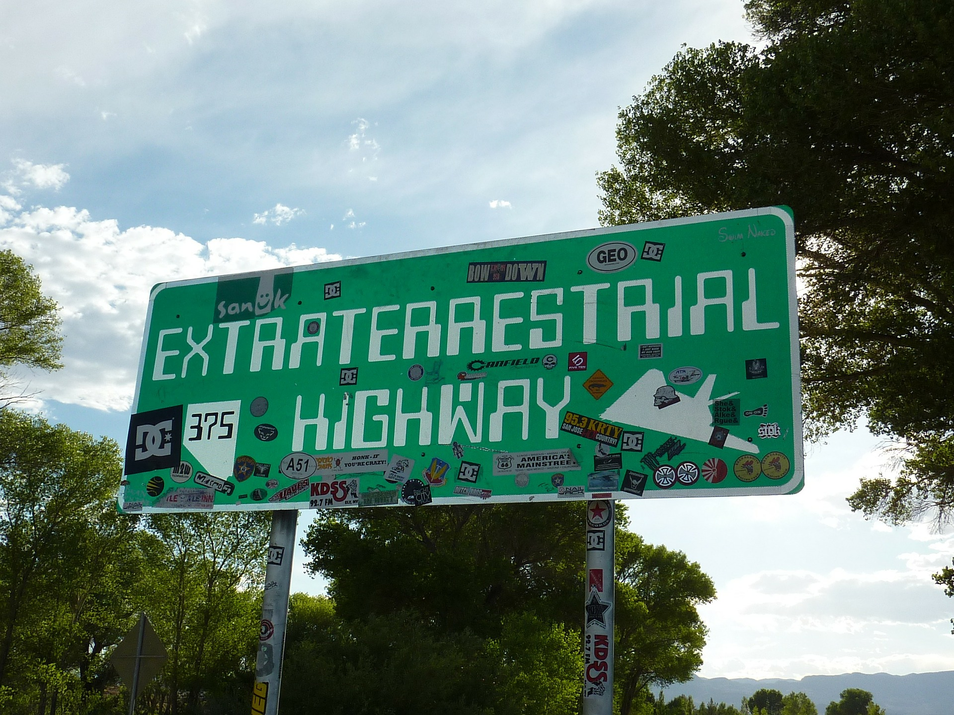 ET Highway Sign