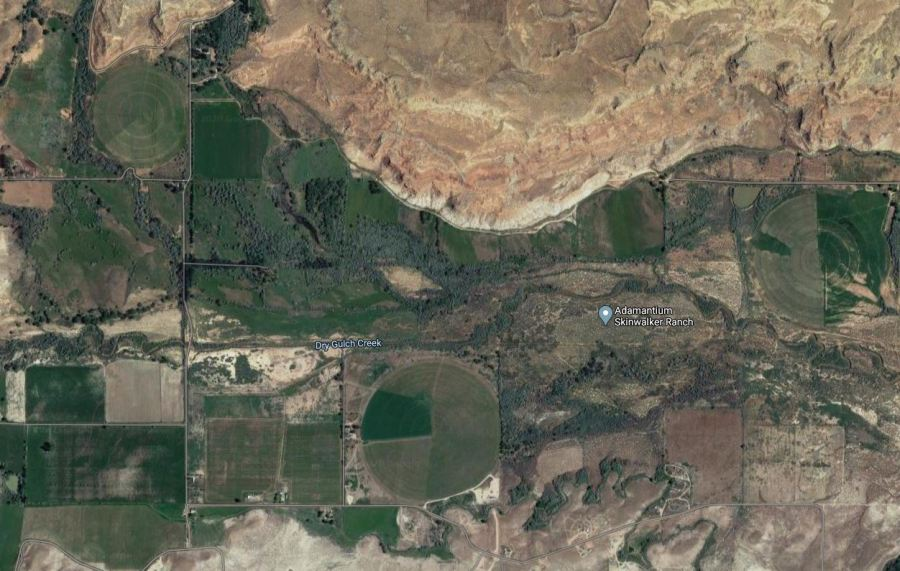Skinwalker Ranch Google maps
